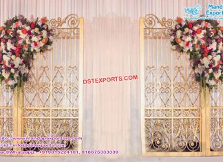 Hot Selling Gold Metal Back Frames