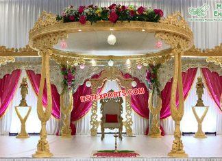 Luxurious Maharani Weddings King Crown Mandap
