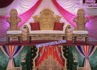 Luxury Throne Sofa For Bride Groom