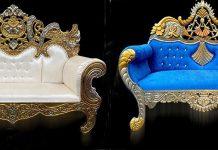 Luxury Wedding Stage Couchs