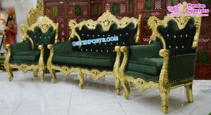 Pakistani Wedding Throne Furniture For Sal