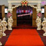 Srilankan Wedding Theme Entrance Decoration