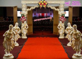 Srilankan Wedding Theme Entrance Decoration