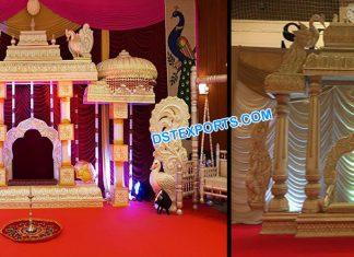 Tamilian Wedding Manavarai Lagan Mandap