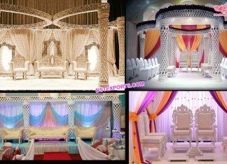 Trending Indian Wedding Diamond-Cut Mandap