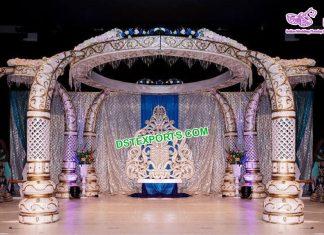 Trending Indian Wedding Tusk Mandap