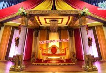 Unique Crystal FRP Wedding Mandap NZ