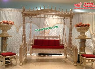Vibrant Sangeet Stage Swing Set USA