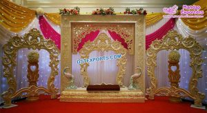 Wedding Reception Stage Photo Frames Panels