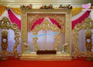 Wedding Reception Stage Photo Frames Panels