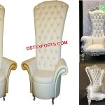 Wholesale Bride Groom Wedding Throne Chairs