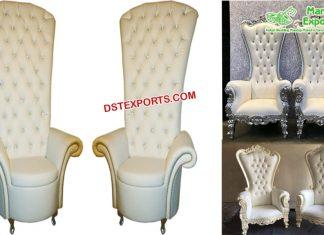 Wholesale Bride Groom Wedding Throne Chairs