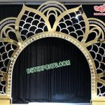 Wholesale Lotus Shaped Wedding Metal Backdrop
