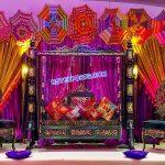 Designer Swing For Mehndi Sangeet Function