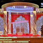 Dreamy Wedding Crystal Lighted Mandap