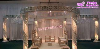 Fantastic Wedding Crystal Mandap