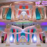 Hot Sale Luxury Crystal Wedding Mandap