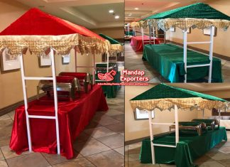 Indian Marriage Food Counter Stage Stalls