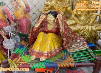 Punjabi Bridal Lady FRP Statue Manufacturer