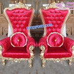 Royal Wedding Baroque Throne Chairs