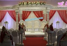 Simple and Elegant Hindu Wedding Mandap