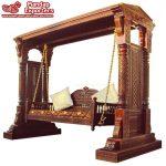 Teak Wood Maharaja Swing For Home Decor