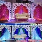 Arabic Mehndi Night Back Frames For Wedding