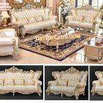 Designer 5 Piece Living Room Furniture Set