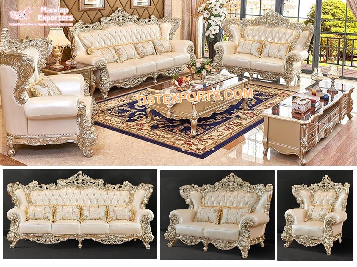 Designer 5 Piece Living Room Furniture, Beautiful Living Room Furniture Sets