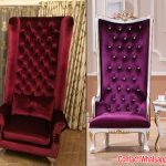 Designer High Back Lounge Chairs