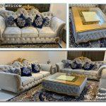 Italian Living Room Sofa & Coffee Table