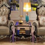 Luxury Baroque Style Lounge Chairs