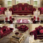 Maharaja Style Living Room Sofa Set