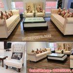 New Design Wooden Living Room Sofa Set