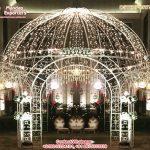 Dreamy Wedding Decor Metal Mandap Manufacturer