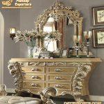 Luxury Bedroom Dresser With Mirror