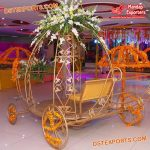 Mini Cinderella Carriage for Wedding Entry