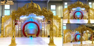 Telugu Wedding Events Fiber Mandap