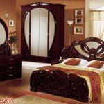 Vintage Teak Wood Bedroom Set For Home