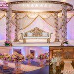 Grand Wedding Half Crystal Gazebo Mandap