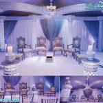 Jewel Crystal Mandap for Modern Wedding