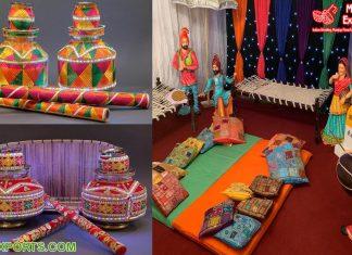 Punjabi Wedding Jaggo Night Decorations