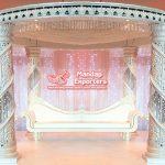 Sparking FRP Wedding Crystal Mandap