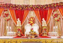 Royal Wedding Mandap Fabric Curtains & Drapes