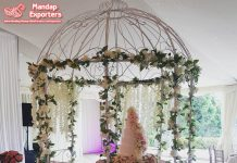 Wedding Party & Event Table Metal Umbrella