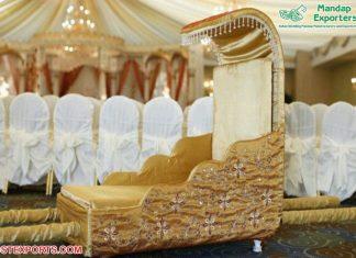 Amazing Bridal Entrance Maharani Doli