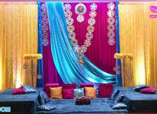 Awesome Haldi Ceremony Decoration Backdrops