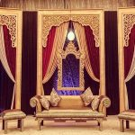 Contemporary Wedding Stage Backdrop Photo Frames