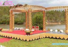 Destiny Outdoor Wedding Mandap Decor