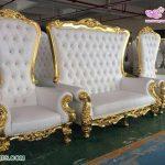 Modern Wedding Bride & Groom Sofa Set